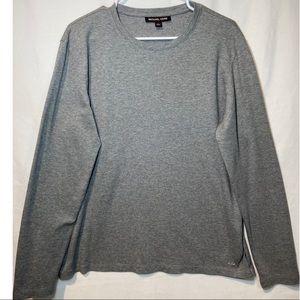 Michael Kors long sleeves t-shirt, Gray, size L